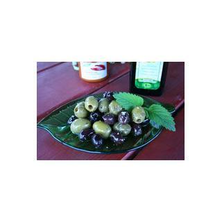 Oliven gemischt, gekräutert, 1kg - VORBESTELLUNG
