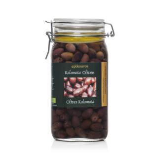 Kalamata-Oliven mit Stein in Öl,  Epikouros